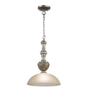 Závěsná lampa Bologna Country 1 Silver - 254015201 small 0