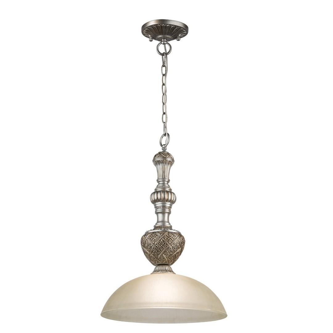 Závěsná lampa Bologna Country 1 Silver - 254015201