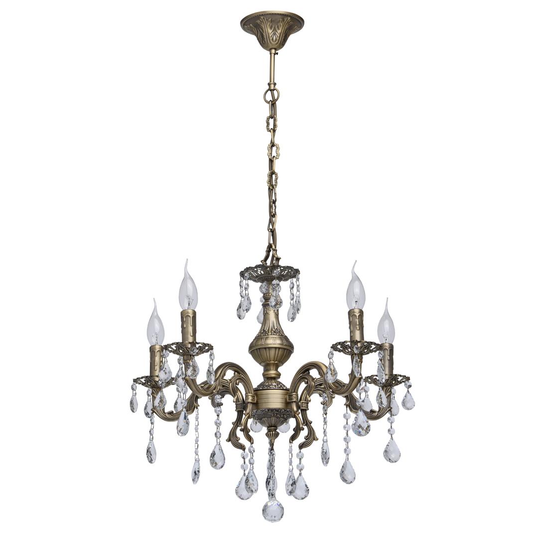 Lustrová svíčka Classic 5 Mosaz - 301017605