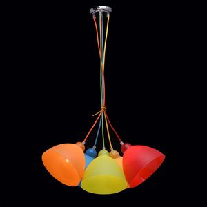 Závěsná lampa Smile Kinder 5 Chrome - 365014505 small 2