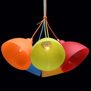 Závěsná lampa Smile Kinder 5 Chrome - 365014505 small 6