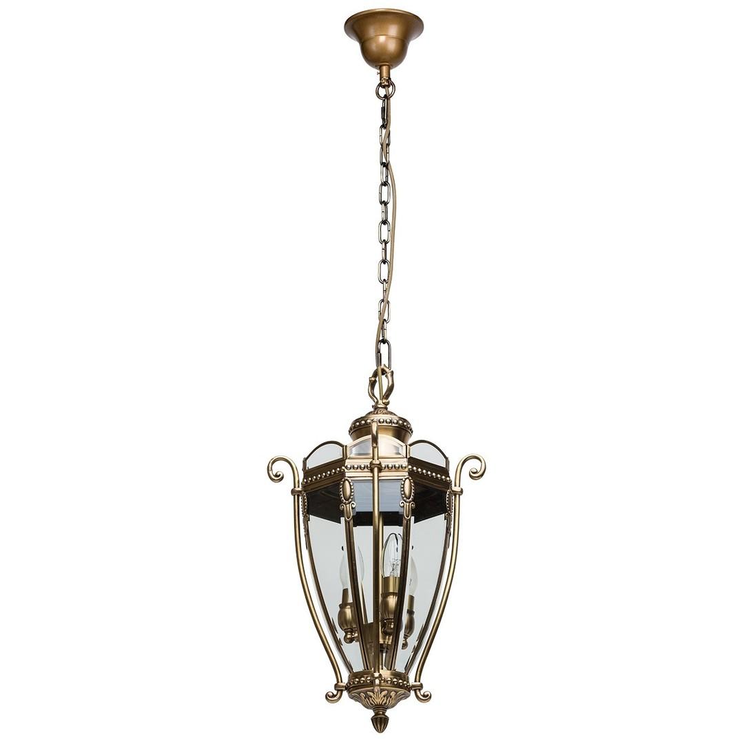 Závěsná lampa Corso Street 3 Mosaz - 802010703