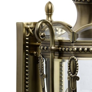 Venkovní nástěnná lampa Corso Street 3 Mosaz - 802020903 small 3