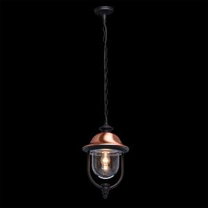 Venkovní závěsná lampa Dubai Street 1 Black - 805010401 small 1