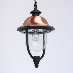 Venkovní závěsná lampa Dubai Street 1 Black - 805010401 small 4
