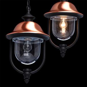 Venkovní závěsná lampa Dubai Street 1 Black - 805010401 small 9