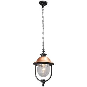 Venkovní závěsná lampa Dubai Street 1 Black - 805010401 small 0
