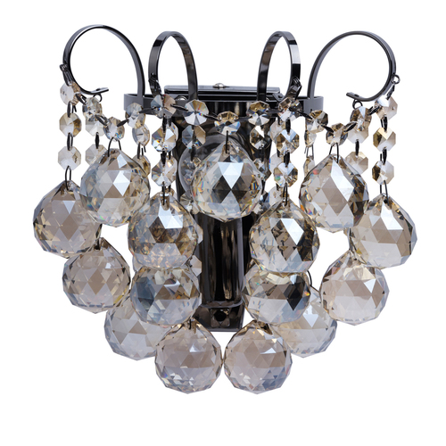 Sconce Pearl Crystal 1 Grey - 232028001