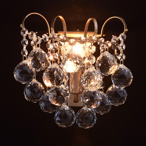 Sconce Pearl Crystal 1 Mosaz - 232028201 small 1
