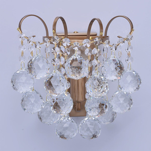 Sconce Pearl Crystal 1 Mosaz - 232028201 small 2
