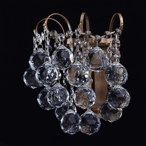 Sconce Pearl Crystal 1 Mosaz - 232028201 small 3