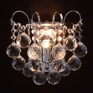 Sconce Pearl Crystal 1 Chrome - 232028301 small 1