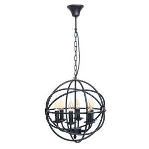 Závěsná lampa Castle Country 6 Black - 249017306 small 0