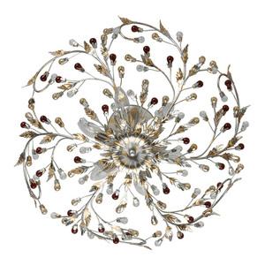 Závěsná lampa Viola Flora 6 stříbrná - 298012006 small 1