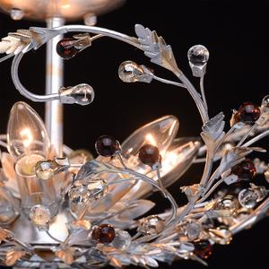Závěsná lampa Viola Flora 6 stříbrná - 298012006 small 5