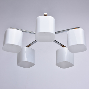 Závěsná lampa Nicole Megapolis 5 Chrome - 364013605 small 2