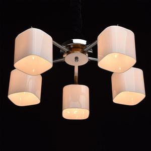 Závěsná lampa Nicole Megapolis 5 Chrome - 364013605 small 3