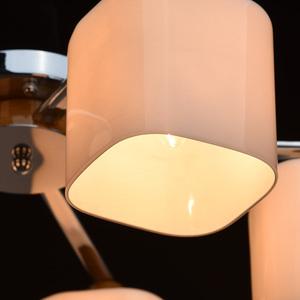 Závěsná lampa Nicole Megapolis 5 Chrome - 364013605 small 6