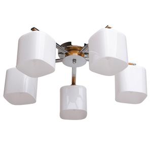 Závěsná lampa Nicole Megapolis 5 Chrome - 364013605 small 0