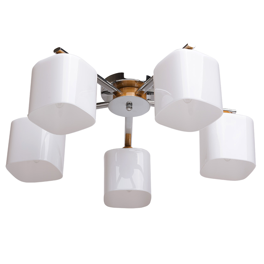 Závěsná lampa Nicole Megapolis 5 Chrome - 364013605