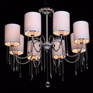 Závěsná lampa Federica Elegance 8 Chrome - 379018608 small 1