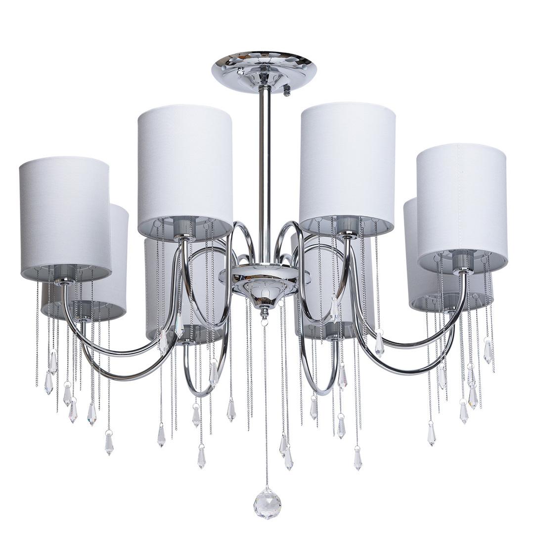 Závěsná lampa Federica Elegance 8 Chrome - 379018608