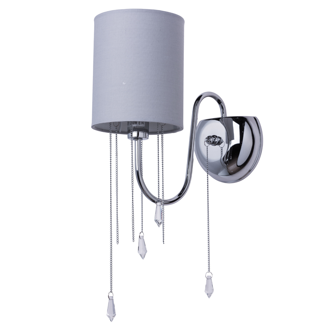 Nástěnná lampa Federica Elegance 1 Chrome - 379028401
