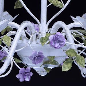 Závěsná lampa Provence Flora 6 bílá - 421014406 small 11