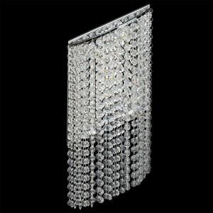 Nástěnná lampa Clarissa Crystal 5 Chrome - 437022105 small 1