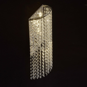 Nástěnná lampa Clarissa Crystal 5 Chrome - 437022105 small 3