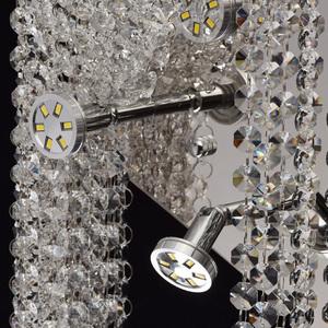 Nástěnná lampa Clarissa Crystal 5 Chrome - 437022105 small 4