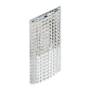 Nástěnná lampa Clarissa Crystal 5 Chrome - 437022105 small 0