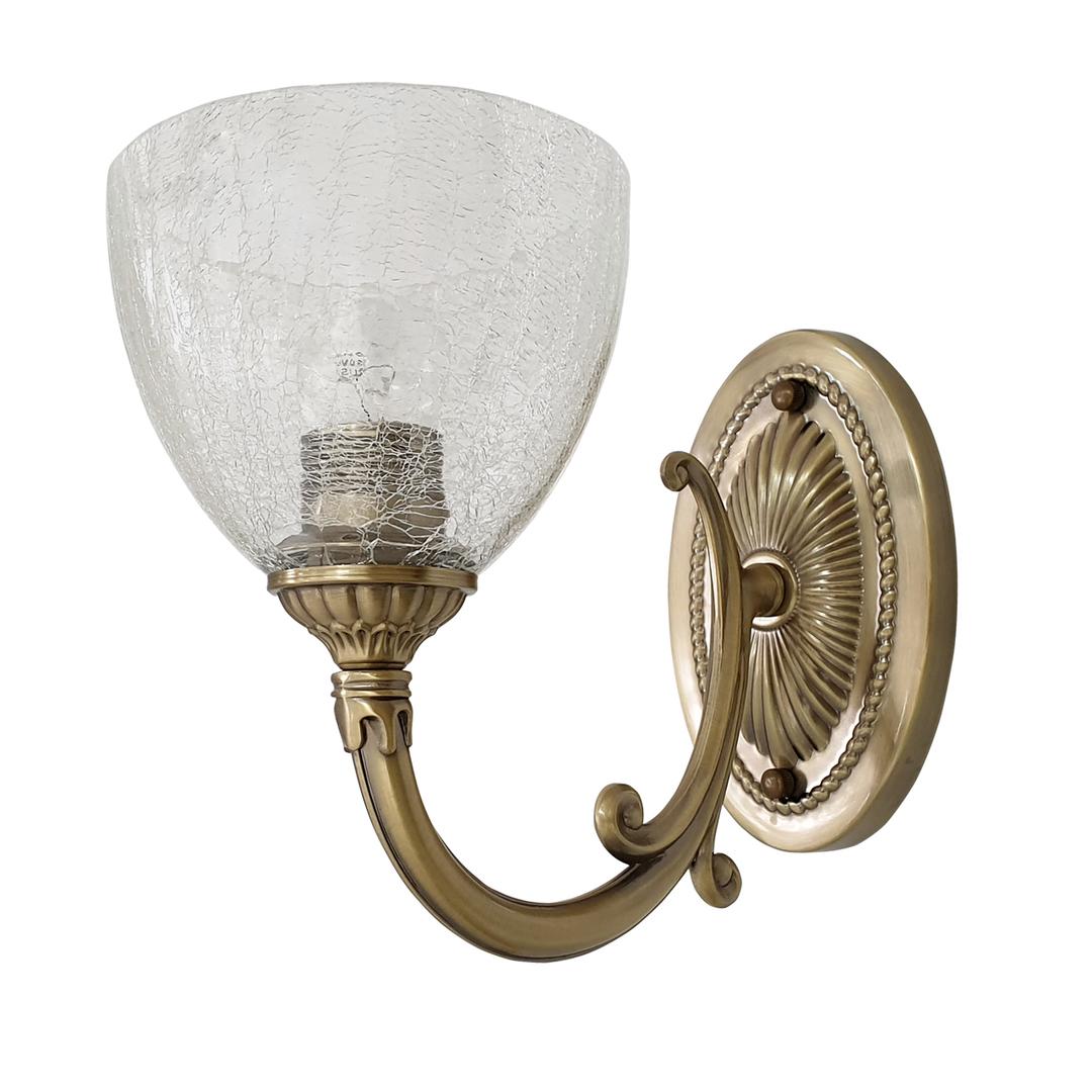 Nástěnná lampa Amanda Classic 1 Mosaz - 481021401