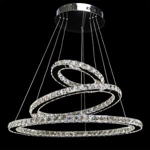 Crystal 144 závěsná lampa chrom - 498011903 small 1
