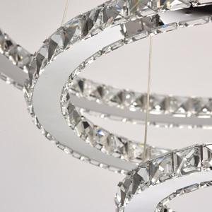 Crystal 144 závěsná lampa chrom - 498011903 small 5
