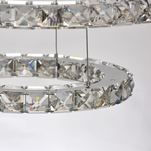 Crystal 144 závěsná lampa chrom - 498011903 small 6