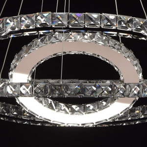 Crystal 144 závěsná lampa chrom - 498011903 small 8