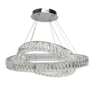 Závěsná lampa Goslar Crystal 136 Chrome - 498012202 small 1