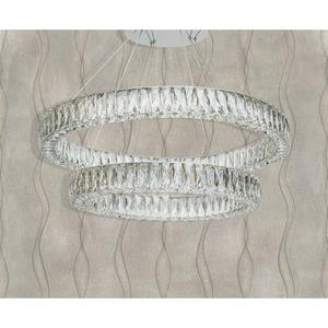 Závěsná lampa Goslar Crystal 136 Chrome - 498012202 small 5