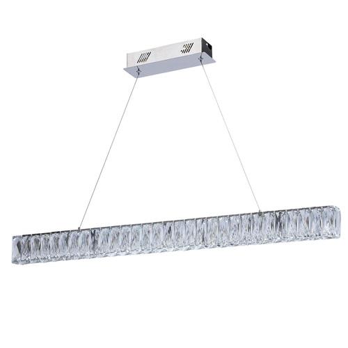 Závěsná lampa Goslar Crystal 180 Chrome - 498012801