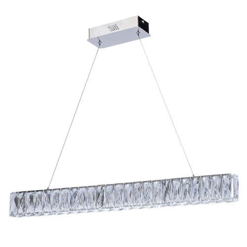 Lampa wisząca Goslar Crystal 240 Chrom - 498012901