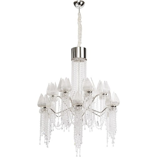 Lustr Lotus im Wasserfall Crystal 28 Chrome - 625010228