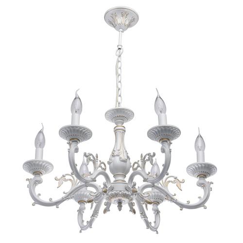 Závěsná lampa Aurora Classic 6 bílá - 371011206