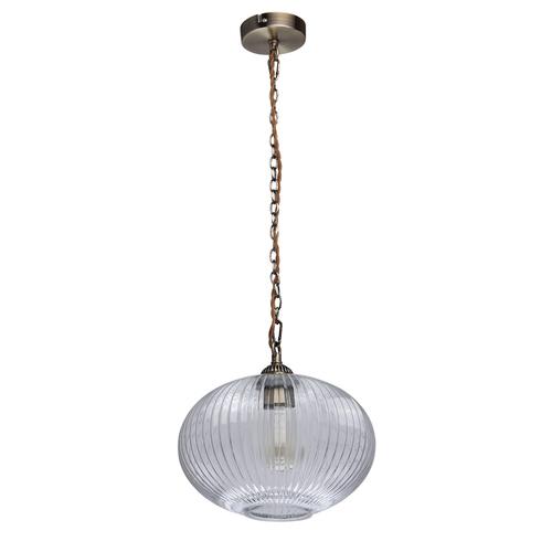 Závěsná lampa Amanda Classic 1 Mosaz - 481012201
