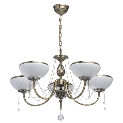 Závěsná lampa Felice Classic 5 Mosaz - 347019105