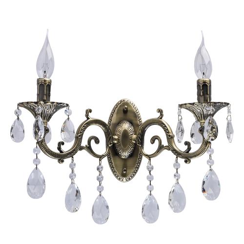 Nástěnná lampa Toscana Classic 2 Mosaz - 685020402