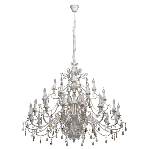 Závěsná lampa Bologna Country 28 White - 639012828
