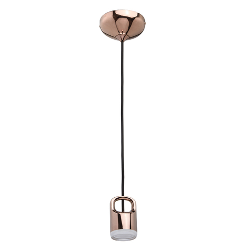 Závěsná lampa Stuttgart Hi-Tech 1 Copper - 110010401