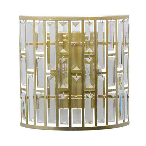 Sconce Monarch Crystal 2 Gold - 121020102