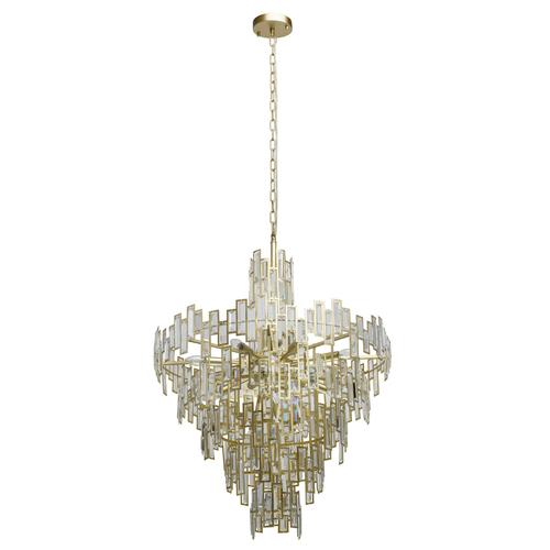 Závěsná lampa Monarch Crystal 18 Gold - 121010718